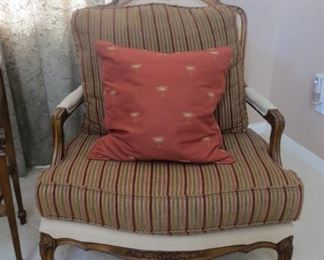 Drexel Heritage chair w/pillow - $25