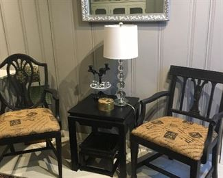 Lamps, Chairs, Tables Rugs, End Tables Decor