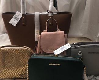 Michael Kors and Designer handbags and Clothes Some NEW