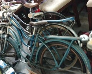 Old bicycles