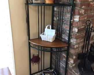 Perfect corner unit to display treasures .