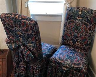 2 Elegant Chairs