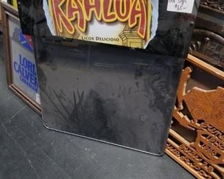 Vintage kahlua electric light up sign