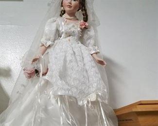 Tall Bridal doll