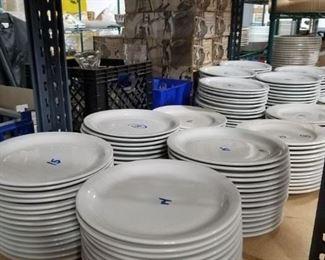 Assorted restaurant grade china