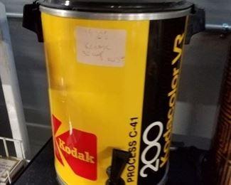 Whimsical working Kodak film roll coffee maker Westbend