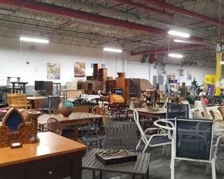 Assorted vintage period furniture