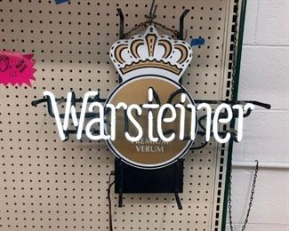 Rare Warsteiner neon WORKS