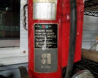 Vintage ansul fire extinguisher