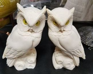 Made in Italy set of owls  Signed
