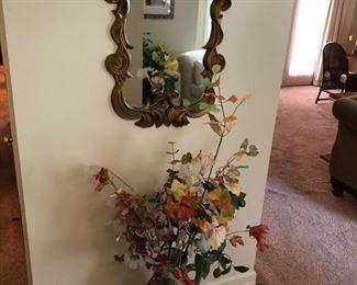 vintage italian provincial mirror
