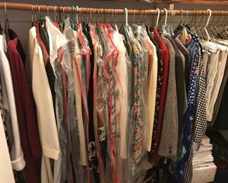 everyday dresses, suits, and blouses
