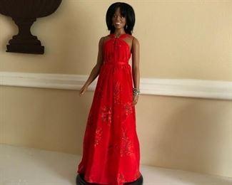 Michelle Obama danbury mint figurine