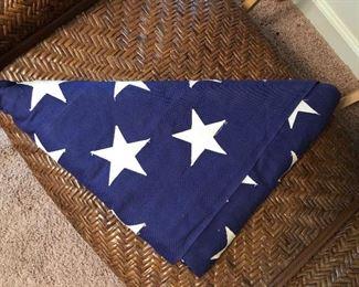 50 year old veteran flag