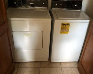 washing machine and dyer.  A little older but works great