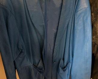 vintage avon fashions leather jacket