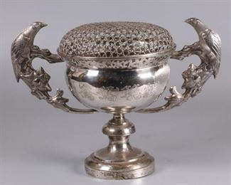 Chinese silver presentation cup, possibly 19th c.