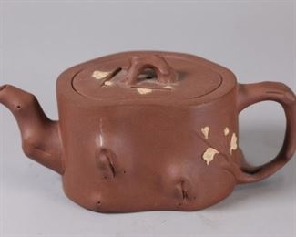 Chinese yixing zisha teapot, possibly Republican period