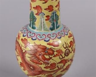 Chinese porcelain vase, possibly 19th c.