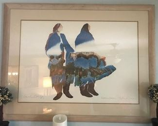 •Signed Carol Grigg Watercolor (Listed artist)