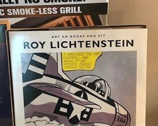 Rare Roy Lichtenstein art book