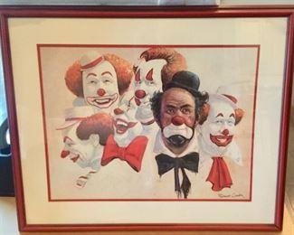 Clown Wall Art