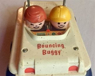 Bouncing Buggy Little People Toy