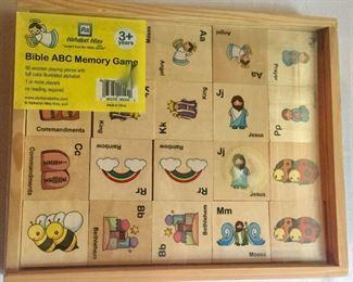Bible ABC Memory Game