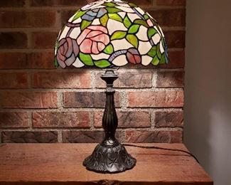 Leaded Glass Tiffany Style Lamp