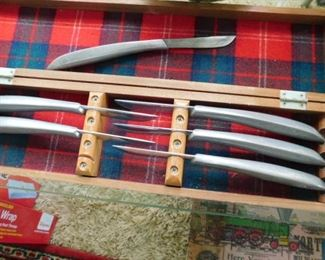Danish Modern knives