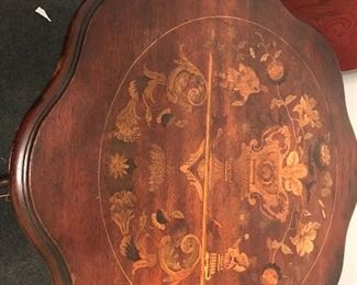 Inlaid occasion table