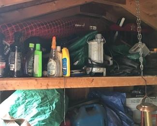 Shed packed