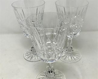 009 3 Waterford Kylemore Water Goblets https://ctbids.com/#!/description/share/193644