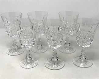 011 6 Waterford Kylemore Claret Wine Glasses https://ctbids.com/#!/description/share/193646