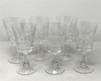 012 6 Waterford Kylemore Claret Wine Glasses https://ctbids.com/#!/description/share/193647