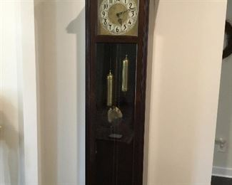 Antique Hanson grandfather clock