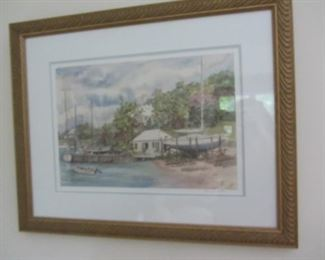 NICE SELECTION OF DECORATIVE PRINTS AND PAINTINGS