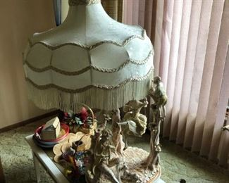 capademonte lamp from italy