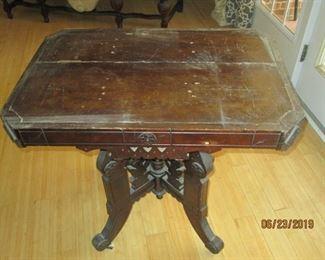 Empire table originally  had marble top