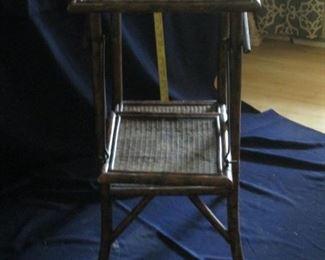 Burnt Bamboo table