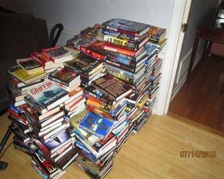 Load of books