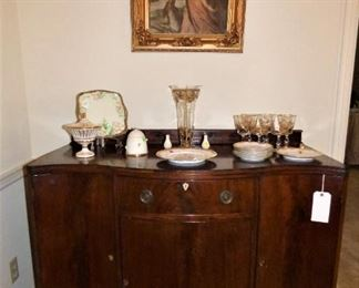 """Mahogany Buffet in """"as is"""" condition"""
