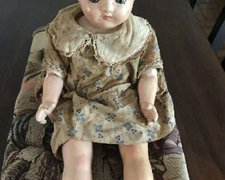 Vintage pre-1930's doll.  Good condition.