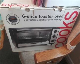 Convection oven toaster
