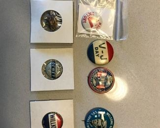 Political and Military Pins (original)