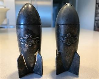 Orlando Air Base WWII Salt Shakers