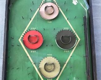 1940s Hy-Ball Vintage Pinball Machine