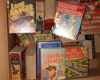 Many Big Little Books and Comics