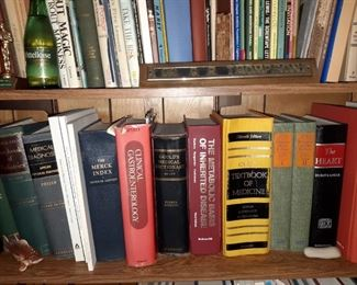 There are a lot of antique books here including children's, Medical books, gardening books, cookbooks