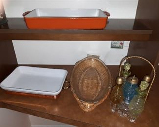 Vintage Cookware including Copper